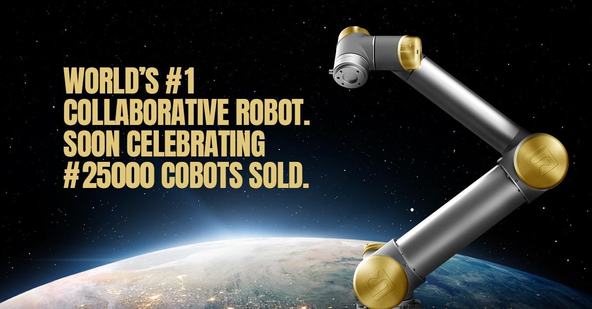 UNIVERSAL ROBOTS REGALA UNA EXCLUSIVA EDICIÓN DE ORO DE SU MÍTICO ROBOT