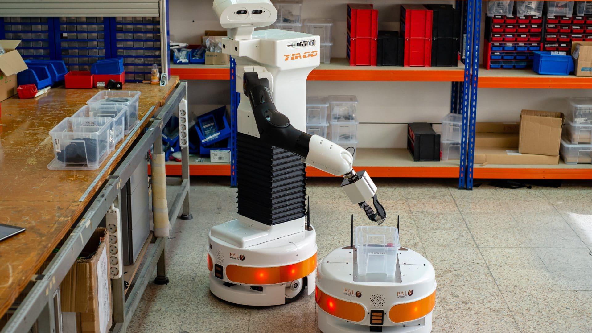 La industria avanza hacia la robótica colaborativa